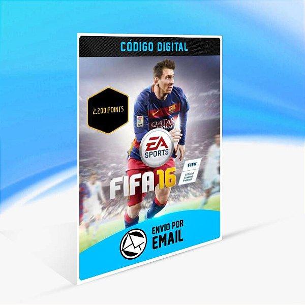 FIFA 16 POINTS 2.200 ORIGIN - PC KEY