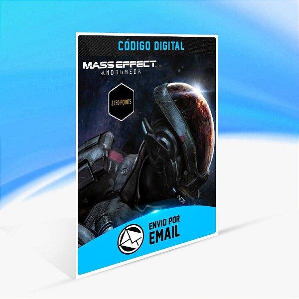 Pontos de Mass Effect Andromeda - 2.150 Points ORIGIN - PC KEY