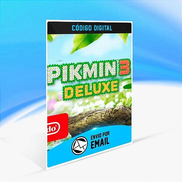Pikmin 3 Deluxe - Nintendo Switch Código 16 Dígitos