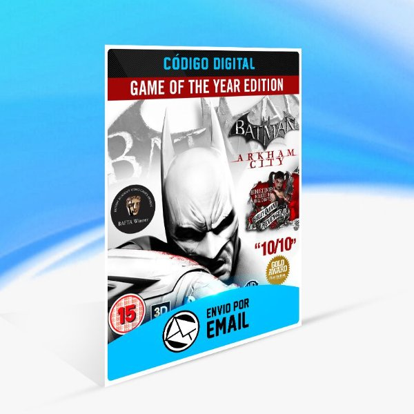 Batman Arkham Asylum GOTY STEAM - PC KEY