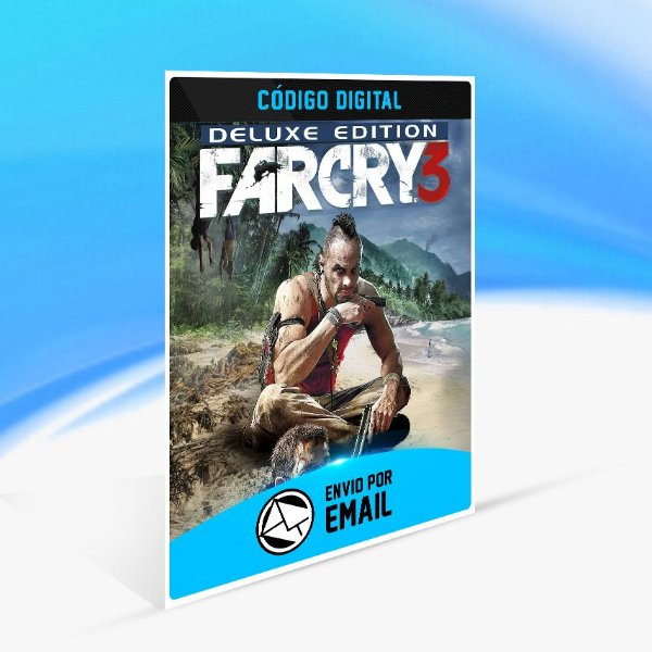 Far Cry 3 Deluxe Edition UPLAY - PC KEY