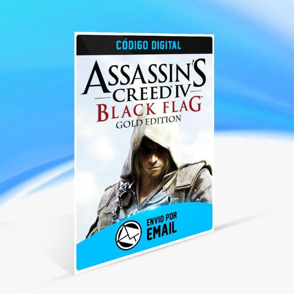 Assassin's Creed IV Black Flag Gold Edition UPLAY - PC KEY