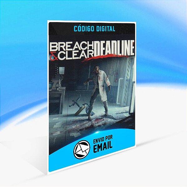 Breach & Clear Deadline STEAM - PC KEY