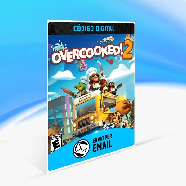 Overcooked! 2 STEAM - PC KEY
