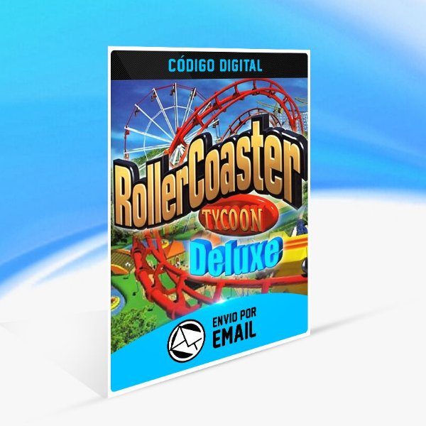 RollerCoaster Tycoon Deluxe STEAM - PC KEY