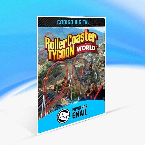 RollerCoaster Tycoon World STEAM - PC KEY
