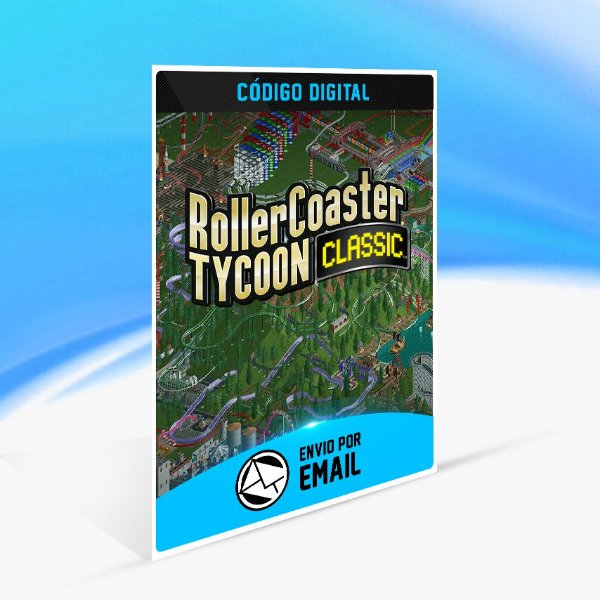 RollerCoaster Tycoon Classic  STEAM - PC KEY