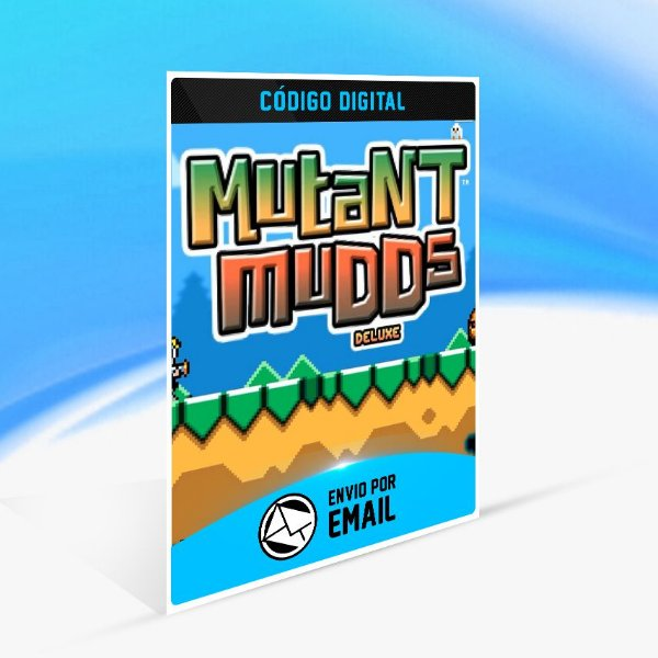 Mutant Mudds Deluxe STEAM - PC KEY
