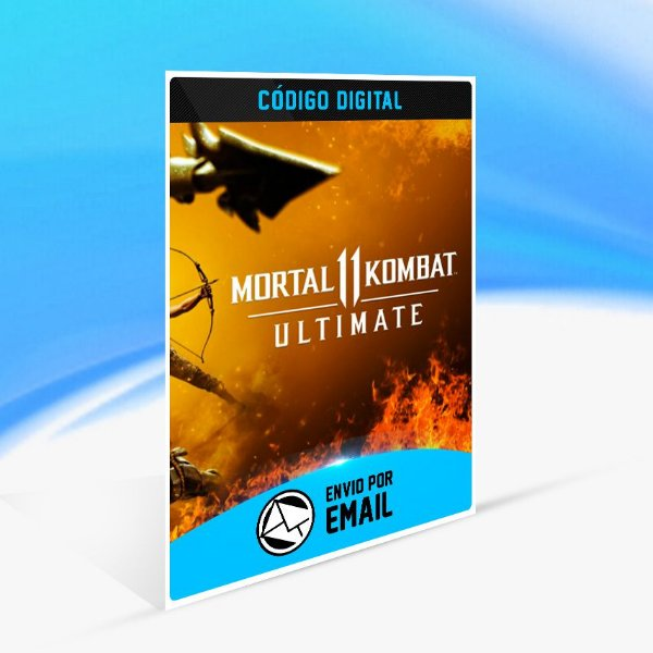 Mortal Kombat 11  Ultimate - Nintendo Switch Código 16 Dígitos