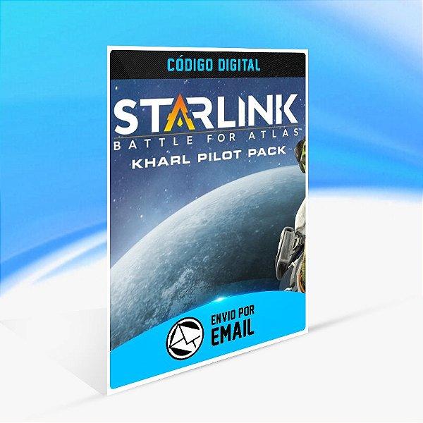Pacote de piloto Kharl Zeon digital de Starlink: Battle for Atlas - Nintendo Switch Código 16 Dígitos