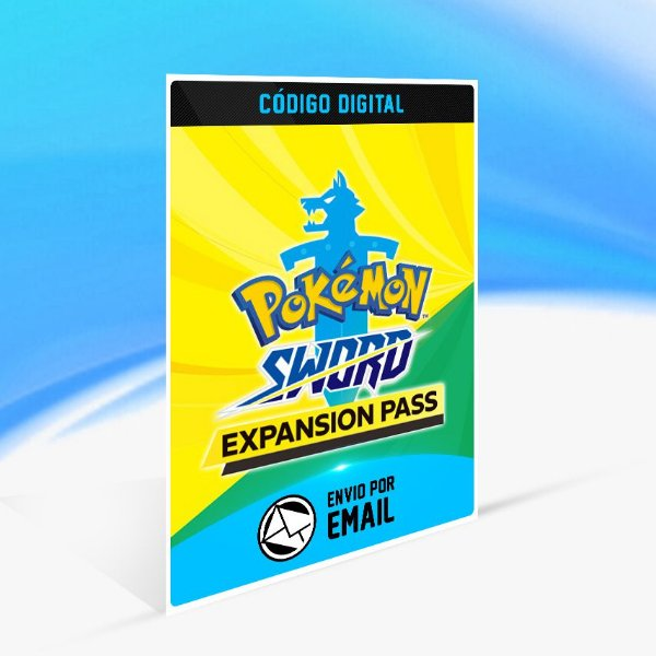 Pokémon Sword Expansion Pass - Nintendo Switch Código 16 Dígitos