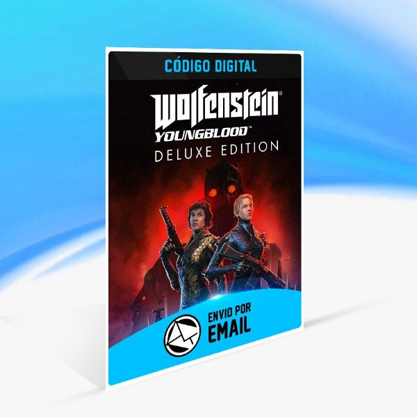 Wolfenstein  Youngblood - Deluxe Edition Switch (EU) - Nintendo Switch Código 16 Dígitos