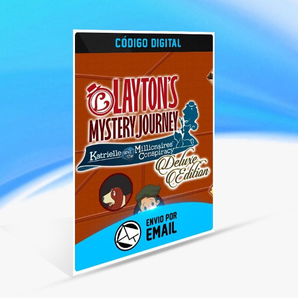 Layton's Mystery Journey  Katrielle and the Millionaires' Conspiracy - Deluxe Edition Switch (EU) - Nintendo Switch Código 16 Dígitos