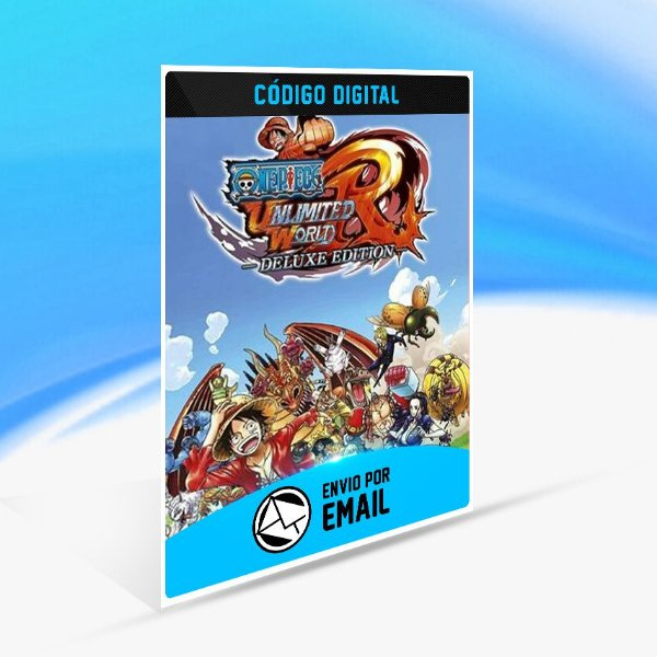 One Piece  Unlimited World Red Deluxe Edition Switch (EU) - Nintendo Switch Código 16 Dígitos