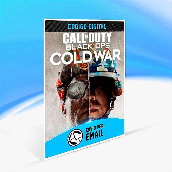 Call of Duty Black Ops Cold War - Xbox One Código 25 Dígitos