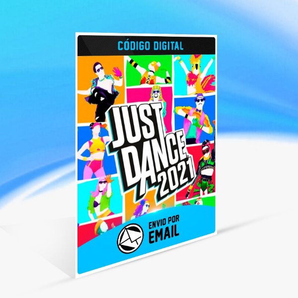 Just Dance 2021 - Nintendo Switch Código 16 Dígitos