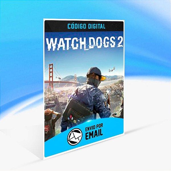 Watch Dogs 2 - Xbox One Código 25 Dígitos