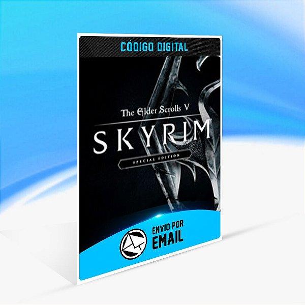 The Elder Scrolls V: Skyrim Special Edition - Xbox One Código 25 Dígitos