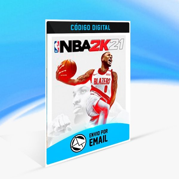 NBA 2K21 - Xbox One Código 25 Dígitos