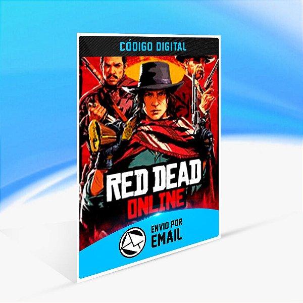 Red Dead Online - Xbox One Código 25 Dígitos