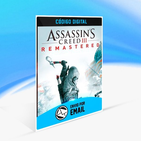 Assassin's Creed III Remastered - Xbox One Código 25 Dígitos