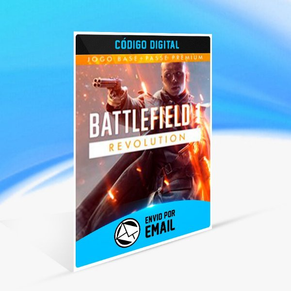Battlefield 1 Revolution - Xbox One Código 25 Dígitos