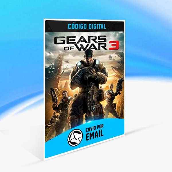 Gears of War 3 - Xbox One Código 25 Dígitos