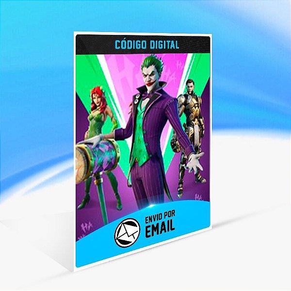 Fortnite Pacotão A Última Risada - Xbox One Código 25 Dígitos