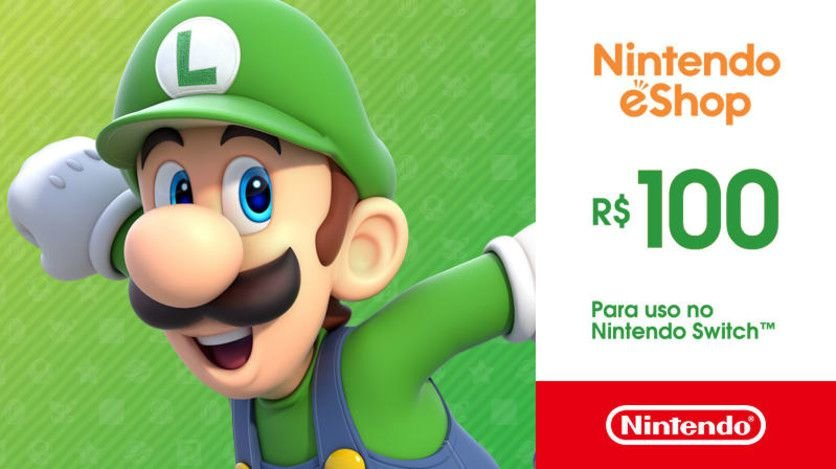 Nintendo - Gift Card Digital 100 Reais