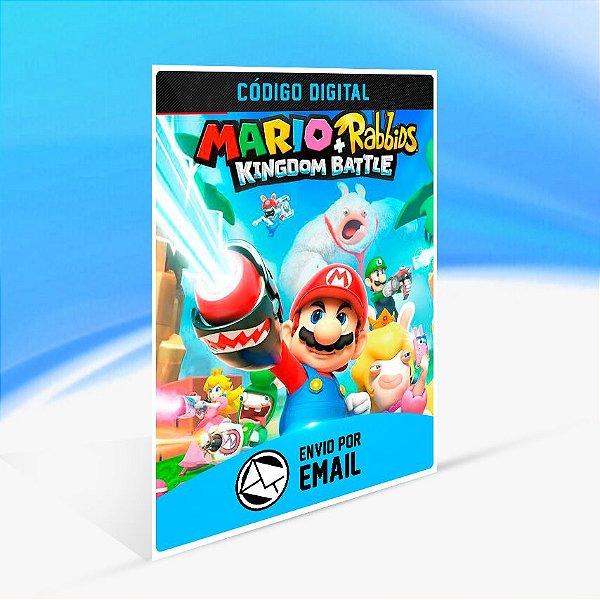 Mario + Rabbids Kingdom Battle - Nintendo Switch Código 16 Dígitos