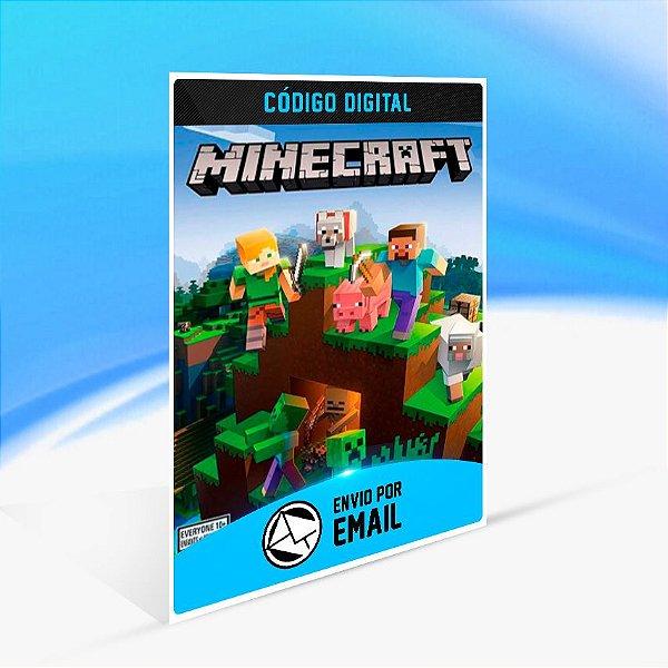Minecraft - Nintendo Switch Código 16 Dígitos