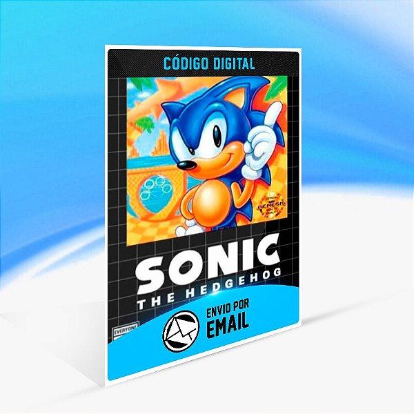 SEGA AGES Sonic The Hedgehog - Nintendo Switch Código 16 Dígitos