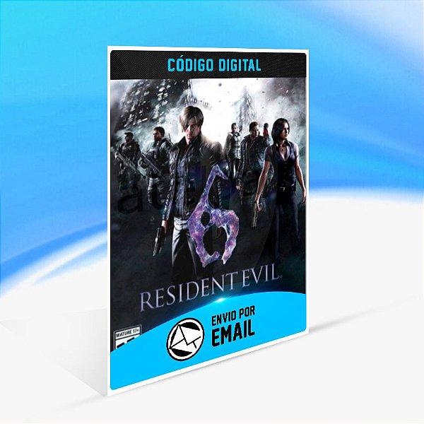 Resident Evil 6 - Nintendo Switch Código 16 Dígitos