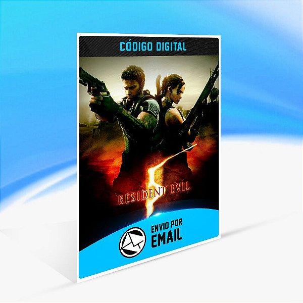 Resident Evil 5 - Nintendo Switch Código 16 Dígitos