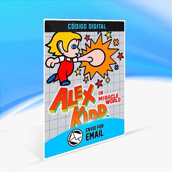 SEGA AGES Alex Kidd in Miracle World - Nintendo Switch Código 16 Dígitos