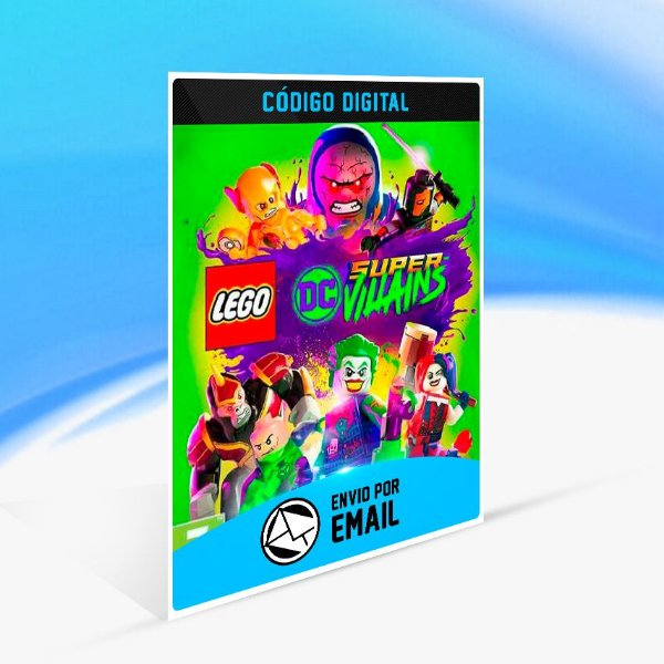 LEGO DC SUPER-VILLAINS - Nintendo Switch Código 16 Dígitos
