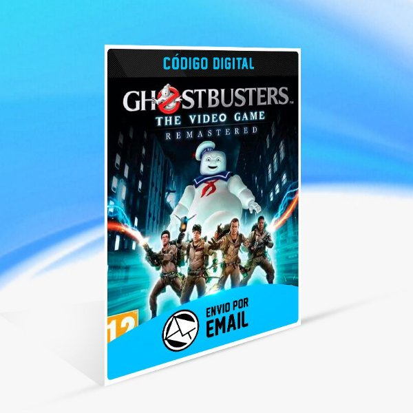 GHOSTBUSTERS THE VIDEO GAME REMASTERED - Nintendo Switch Código 16 Dígitos