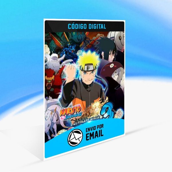 NARUTO ULTIMATE NINJA STORM 3 - Nintendo Switch Código 16 Dígitos