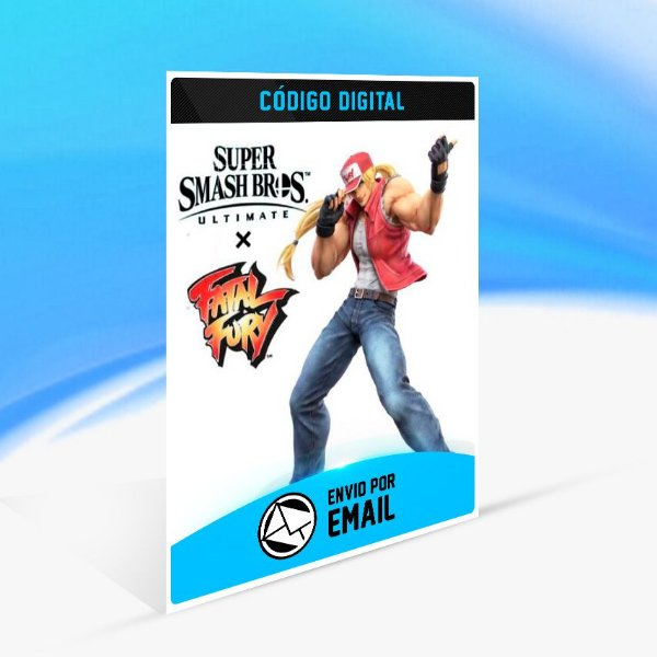 SUPER SMASH BROS. ULTIMATE - TERRY BOGARD CHALLENGE DLC - Nintendo Switch Código 16 Dígitos