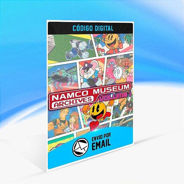 NAMCO MUSEUM ARCHIVES VOL 1 - Nintendo Switch Código 16 Dígitos