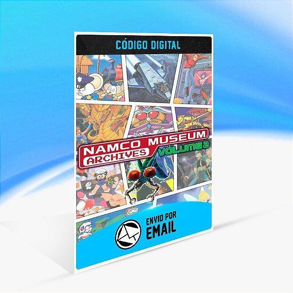 NAMCO MUSEUM ARCHIVES VOL 2 - Nintendo Switch Código 16 Dígitos