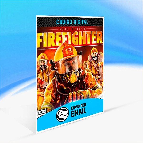 REAL HEROES: FIREFIGHTER - Nintendo Switch Código 16 Dígitos