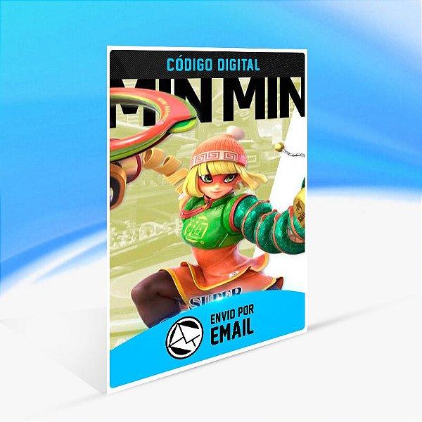 SUPER SMASH BROS. ULTIMATE MIN MIN CHALLENGER PACK 6 - Nintendo Switch Código 16 Dígitos