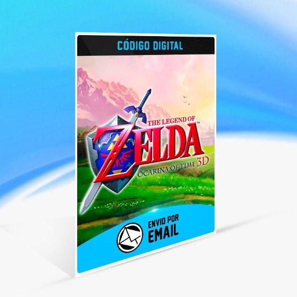 The Legend of Zelda: Ocarina of Time 3D - Nintendo 3DS Código