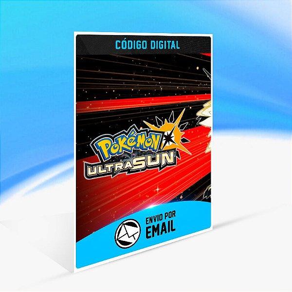 Pokémon Ultra Sun - Nintendo 3DS Código