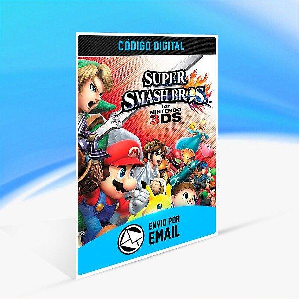 Super Smash Bros. - Nintendo 3DS Código
