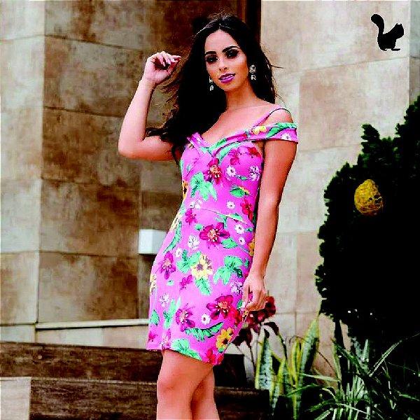 412bebaf8 Vestido Brenda Curto Suplex Estampado - 580 - Holiday Store