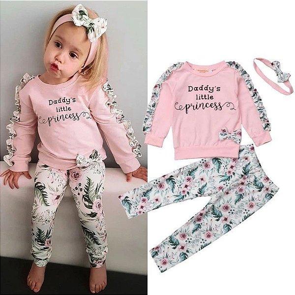 Conjunto Daddy's Princess