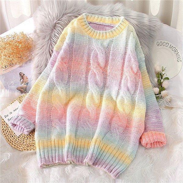 Suéter Tie Dye Vintage - 2 cores