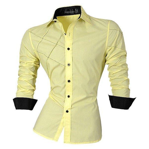 Camisa Cross Amarela - Masculina